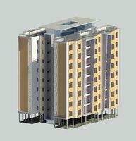 Apartment Building 8th floors