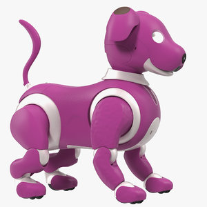 robot dog generic bot 3D model