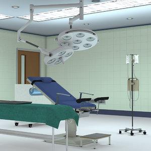 gynecological room model
