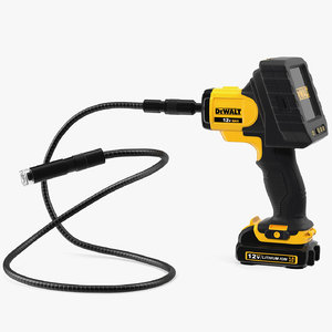3D dewalt dct410n inspection camera model