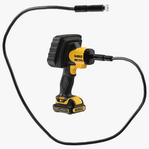 3D dewalt dct410n inspection camera