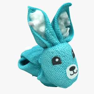 plush rabbit model