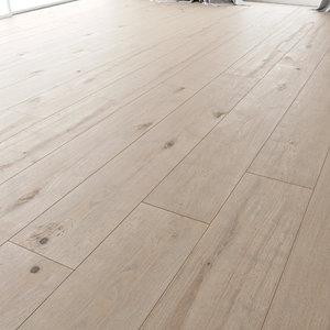 3D wood floor oak steele model