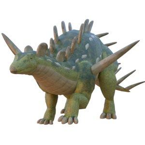 kentrosaurus 3D