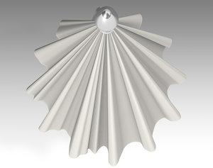 umbrella parasol deck 3D model