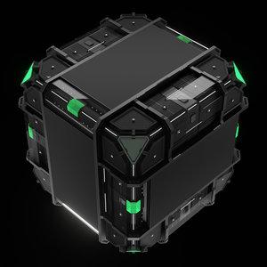 conceptual cube 3D