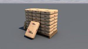 pallet paper packs model