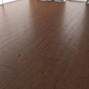 wood floor oak chester 3D model