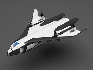 space shuttle avatar 3D model