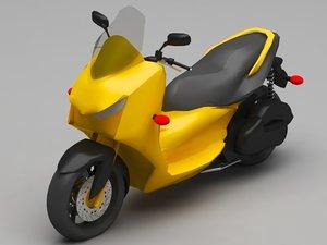 skooter 3D model