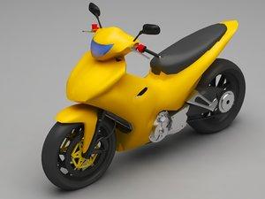 3D skooter model