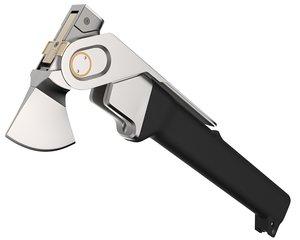 3D model axe tool hammer
