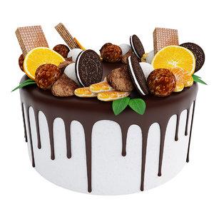 cake oreo 3D