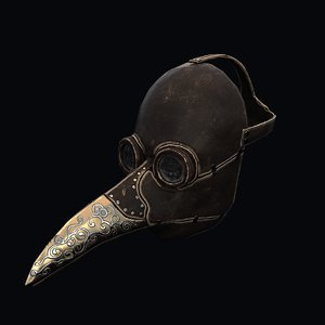 plague doctor mask model
