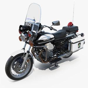 3D model moto guzzi 850 t3