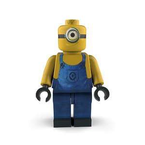 minion follower character 3D model