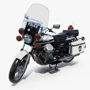 moto guzzi 850 t3 3D model