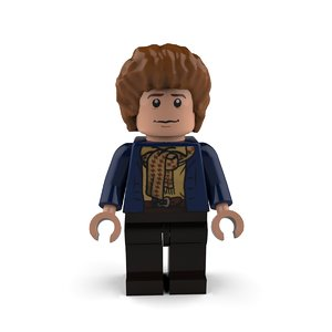 3D peregrin took pippin model