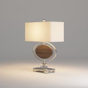 3D uttermost malik table lamp