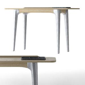 3D concrete wood