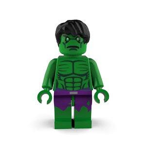 hulk bruce 3D model