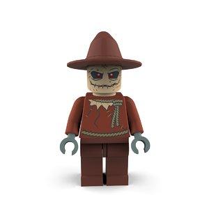 3D scarecrow villains