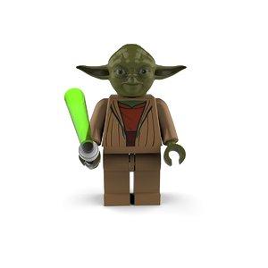 3D model yoda star wars