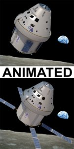 3D nasa s orion space craft