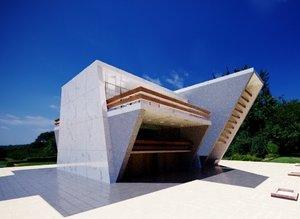 3D modern building villa model