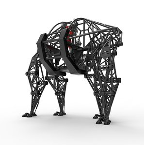 exoskeleton space robot prosthesis 3D model