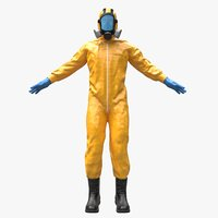 Hazmat Worker Clothes