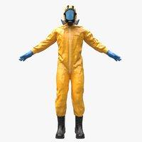 Hazmat Worker Clothes