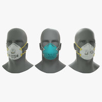 N95 Respirator Mask Collection