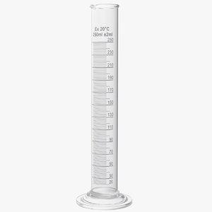 3D graduated cylinder