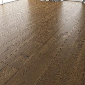 3D model wooden floor oak estate