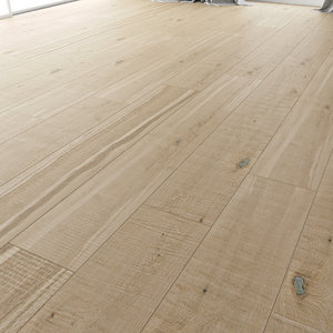 wood floor oak shelbi 3D model