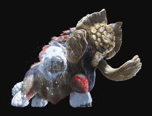 3D silver ridge gammoth