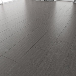 wood floor oak baltmore 3D model