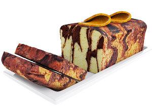 cake orange 3D model