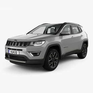 jeep compass limited 3D model