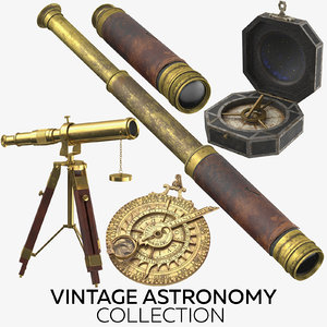 3D vintage astronomy