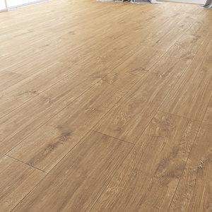 3D wood floor oak smok model