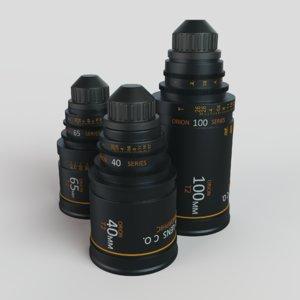 camera lenses 3D