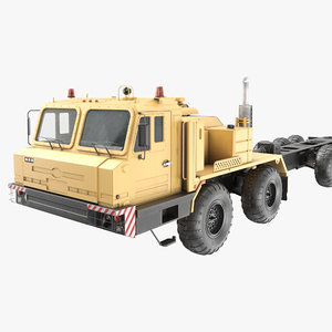 russian artillery tractor vehicle model