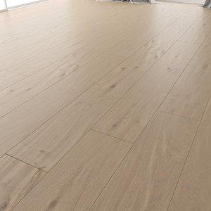 wood floor oak colonial 3D model
