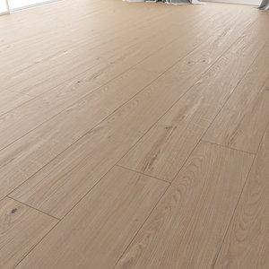 3D model wood floor oak colonial