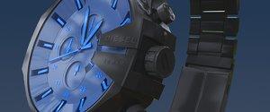 - diesel watch dz4318 3D model