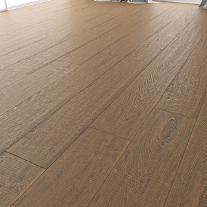 3D wood floor oak dallas model