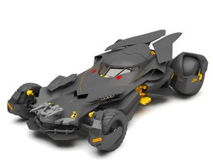 3D bat mobile car model
