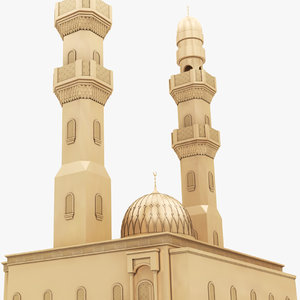 3D bahrein isa town masjjed